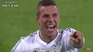 Euro 2012 All Goals In HD