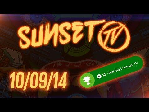 Sunset TV: 10092014  Achievements & Insomniacs!