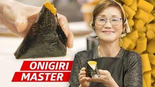 How Onigiri Master Yumiko Ukon Makes 500,000 Rice Balls a Year  First Person