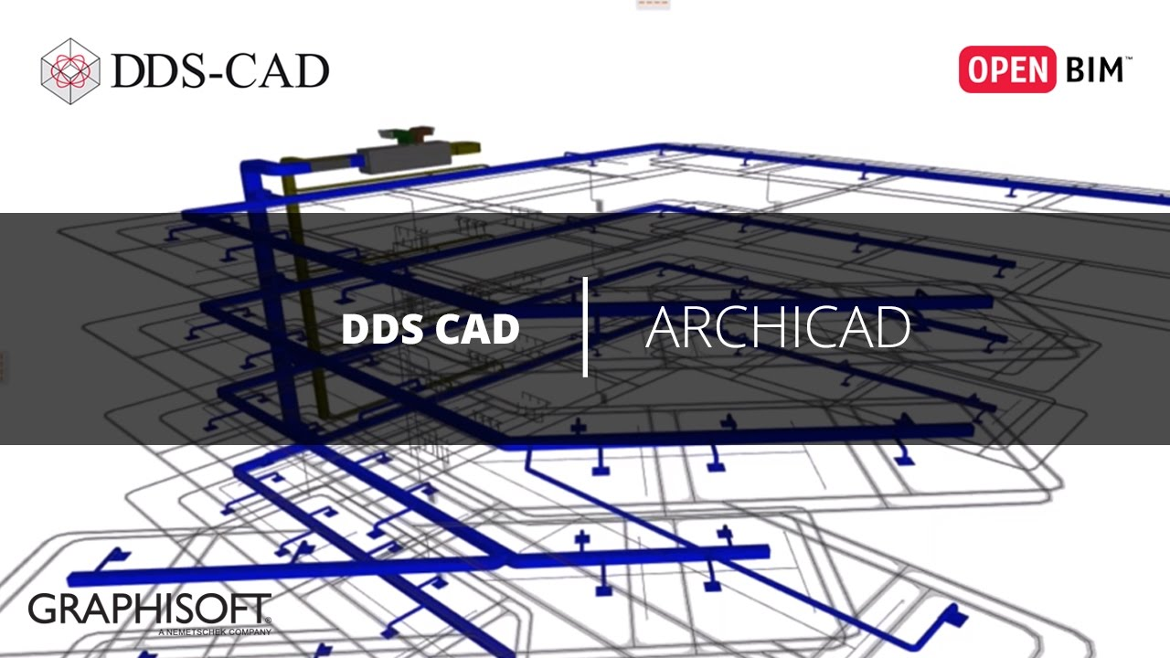 dds cad open bim archicad youtube. Black Bedroom Furniture Sets. Home Design Ideas