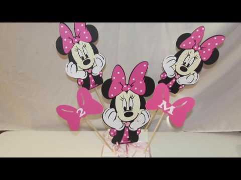 Cricut Machine Minnie Mouse Party Ideas