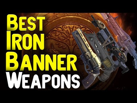 Best iron banner weapons my top 4 ib primaries in destiny pvp