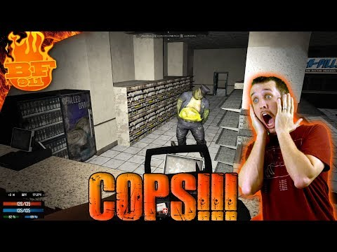 Cops at the Drug Store! 7 Days to die Ep 55