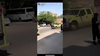 ريماس منصور احتراق الشقة وتدخل الدفاع المدني
