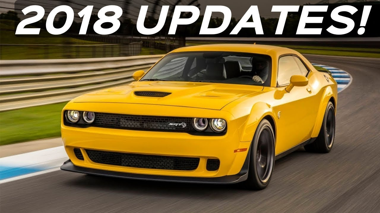 What S New For The 2018 Dodge Challenger Lineup New Models