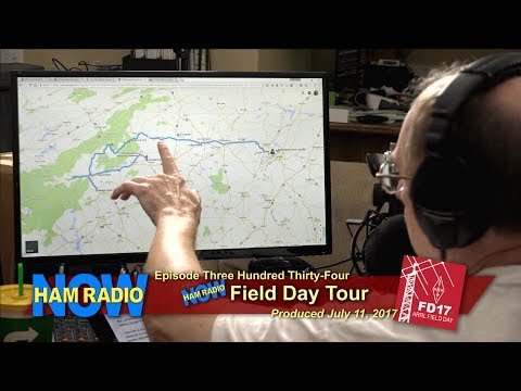 HRN 334: Field Day TOUR on Ham Radio Now