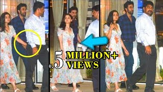 CAUGHT RED HANDED! Ranbir Kapoor And Alia Bhatt Went For A Dinner Date