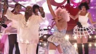 Christina Aguilera feat Ceelo - Make The Word Move in THE VOICE US