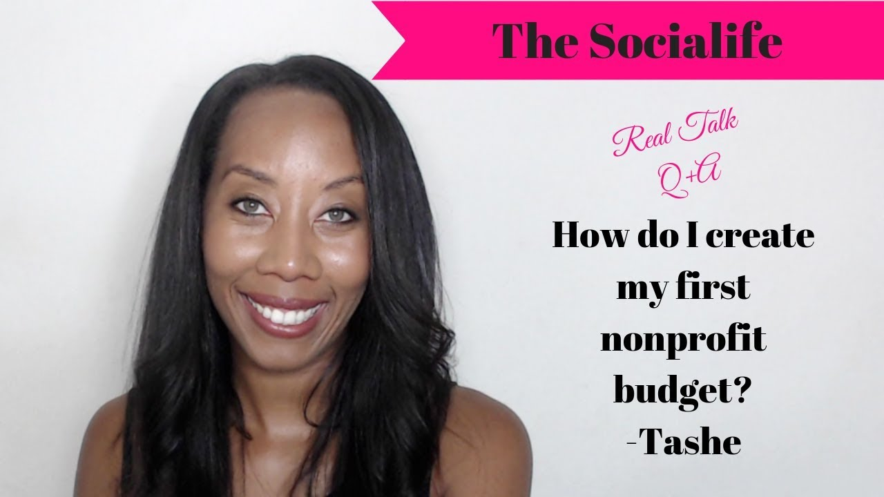 How to create your first nonprofit startup budget? #RealTalk #nonprofit #Entrepreneur