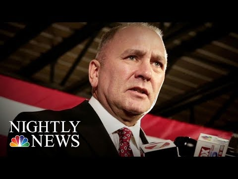 U.S. Congressman Clay Higgins Criticized For Recording In Auschwitz Gas Chamber | NBC Nightly News