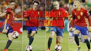FIFA 18 ¡MODO LEGENDARIO! #2 ESPAÑA VS BARCELONA