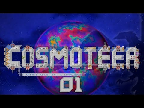 Cosmoteer #01 FREE SHIP BUILDING AND COMMANDING GAME - COSMOTEER Let's Play