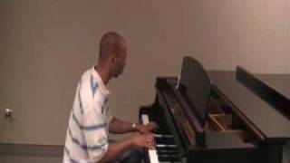 When I First Saw You - Jamie Foxx & Beyonce Piano By Mike Fenty