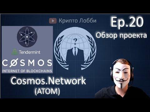 20ep. Обзор проекта Cosmos Network (ATOM) + размышления на тему платформ и их перспектив