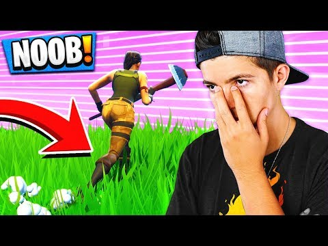 REACTING To My FIRST GAME Of Fortnite: Battle Royale (NOOB)