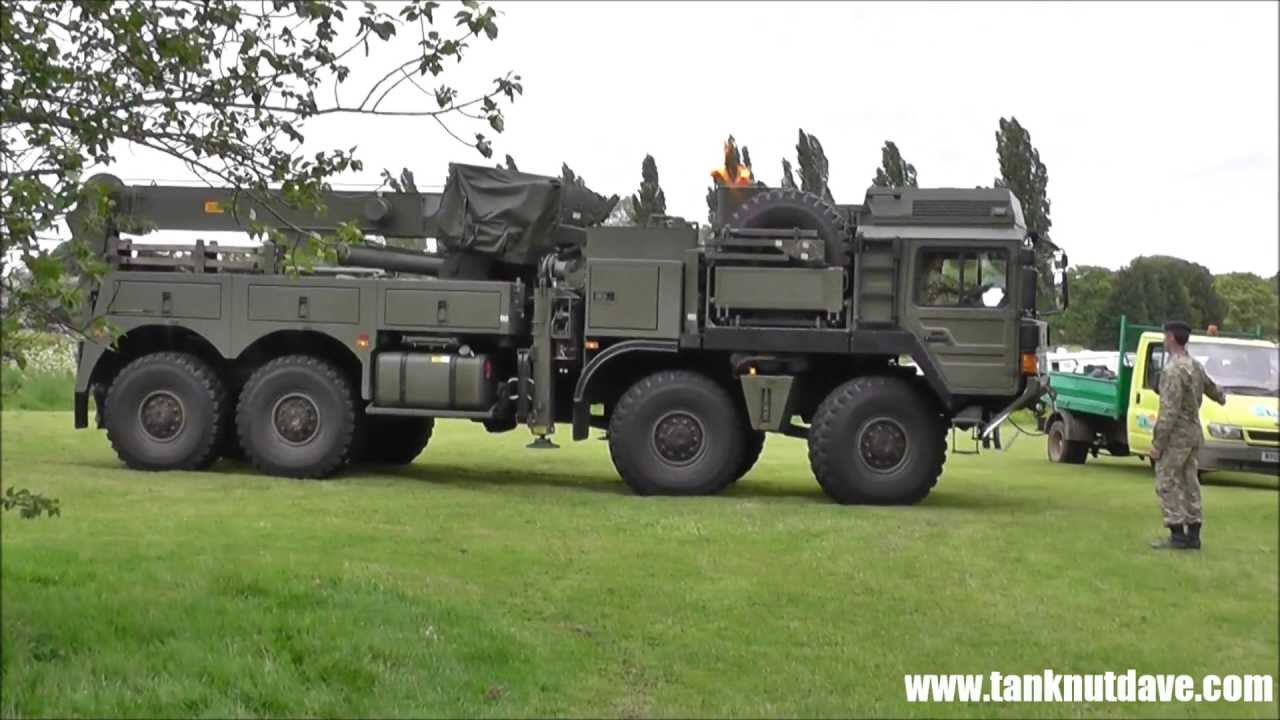 Used Cars For Sale Germany Military: New British Army MAN Recovery Vehicle