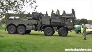 New British Army MAN Recovery Vehicle
