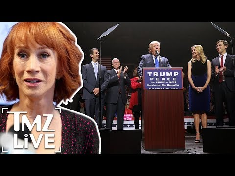 Kathy Griffin Says She Is Being Bullied By The Trump Family | TMZ Live