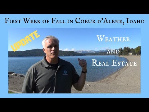Coeur D'Alene, Idaho Real Estate And Weather Update