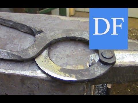 Blacksmithing for Beginners - Nautical Dividers 2