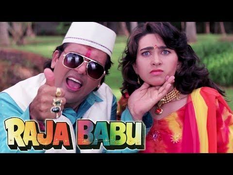 Govinda Confess His Love To Karishma Kapoor | Shakti Kapoor | 4K Video | Part 4 - Raja Babu