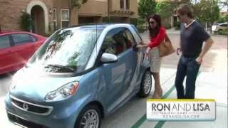 Ron and Lisa Beres Test Drive the Smart Car