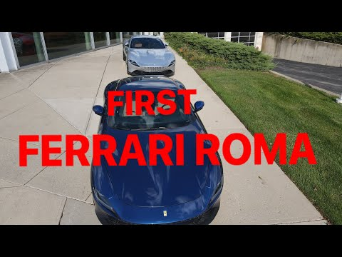 Hai Cha Con Review Chiếc Ferrari ROMA Mới Nhất.  Father&Son Review The First Ferrari ROMA,