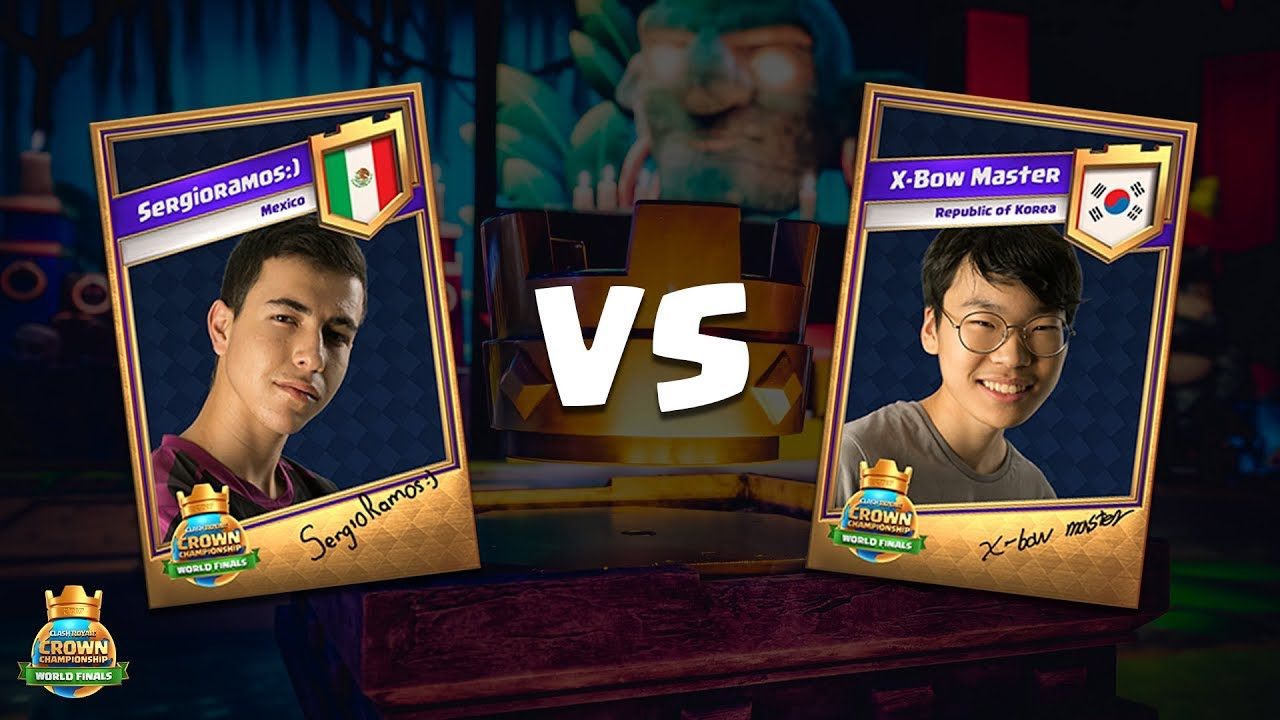 Crossbow Vs Roundup Ccgs World Finals Round 1 - Sergioramos_) Vs X-bow Master