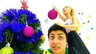 Новый Год: Барби и Елка - наряжаем вместе!