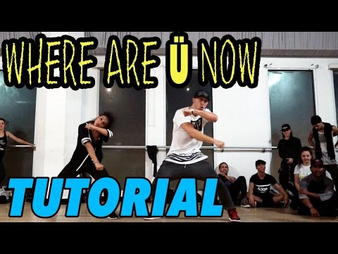 WHERE ARE U NOW - Justin Bieber Dance TUTORIAL | @MattSteffa
