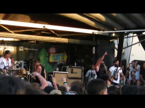 The Word Alive at Vans Warped Tour 2014