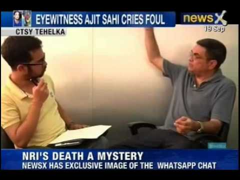 NewsX: In The Anmol Sarna Death Case, NRI's Family Blame On Destroying Evidence