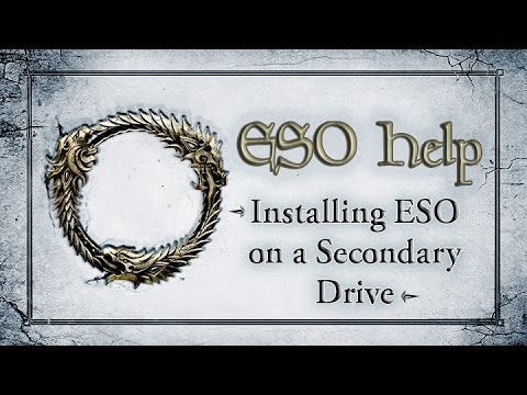 Installing ESO to a Secondary Drive - The Elder Scrolls Online