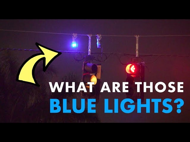 What are those blue lights above traffic signals? - Curious Gulf Coast - PBS & NPR for Southwest FL