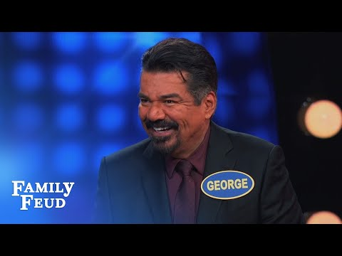 George Lopez gives a tortilla tutorial... | Celebrity Family Feud