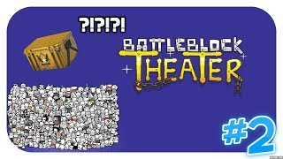 BattleBlock Theater #2 Można tu robić Case Opening ?!?!?!