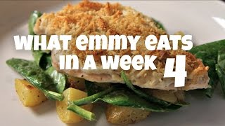 What Emmy Eats in a Week 4