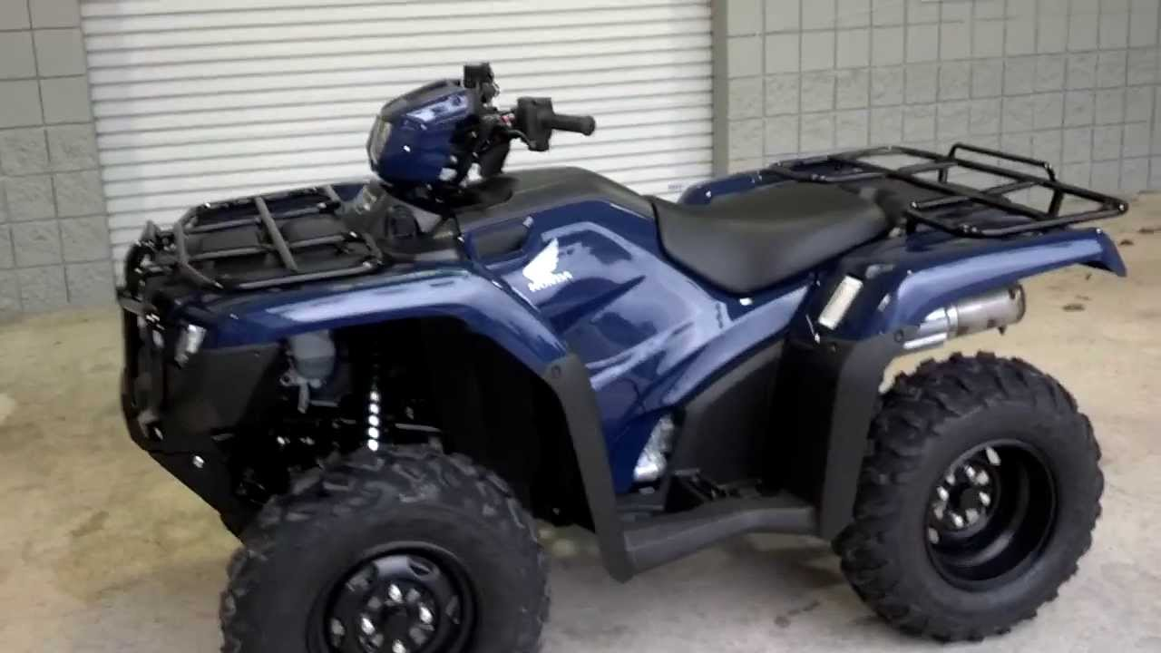 2014 Foreman 500 Blue Sale At Honda Of Chattanooga Tn 2014