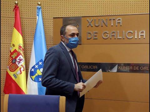 <p>Comparecencia de Julio García Comesaña para detallar las limitaciones que entran en vigor esta medianoche.</p>