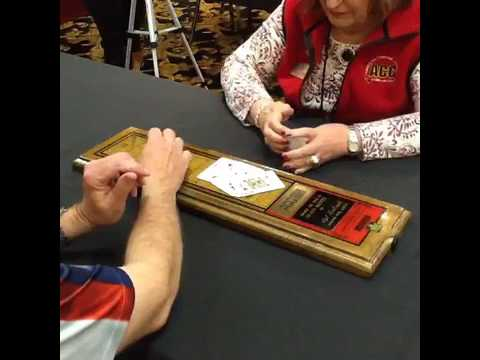 2017 Cribbage Tournament of Champions finals Al Karr perspective