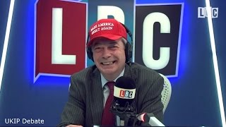 NEW - The Nigel Farage Show - Theresa May Meets President Trump In The White House - 26/01/2017