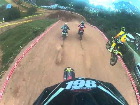 GoPro - Ramon Fischer #198 - Nacional Iniciante - 9º Motocross de Panorama - Rio Bananal - ES