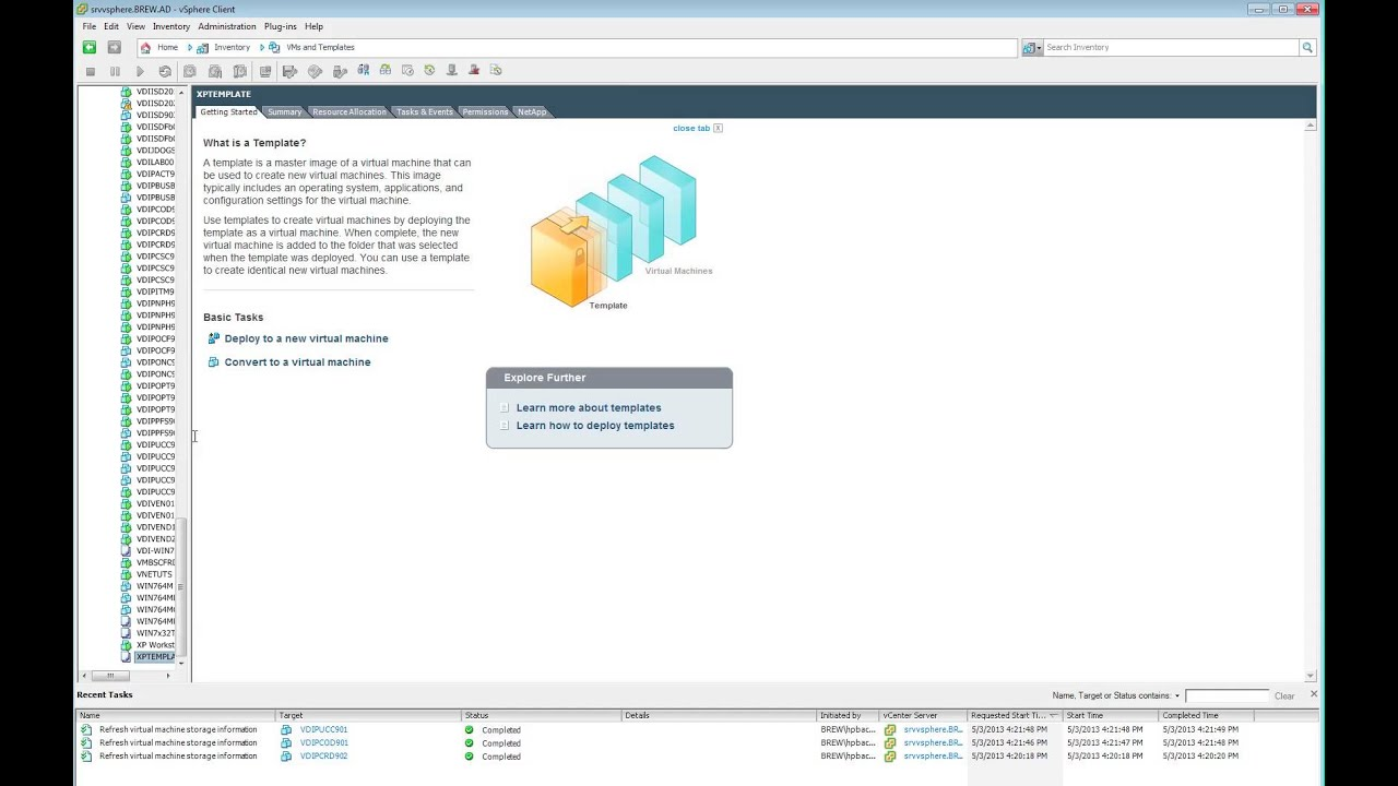 VMware - Fix greyed out customization template options