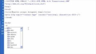 Aprende html 02 - Titulos y subtitulos en una pagina web