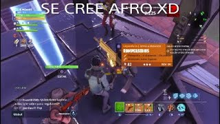SCAMMER IS PASSED BY CIBERCHARLIE AND AFROTACTIC FORTNITE SAVE THE WORLD [ZeusA3]
