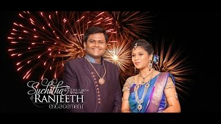 Suchitha+Ranjeeth: Highlights from the Engagement Ceremony