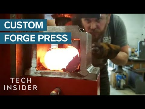Forge Presses Are Custom Made