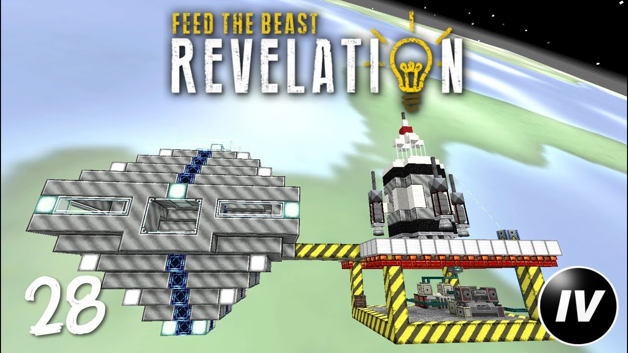 FTB Revelation - Ep 28 - Space Station