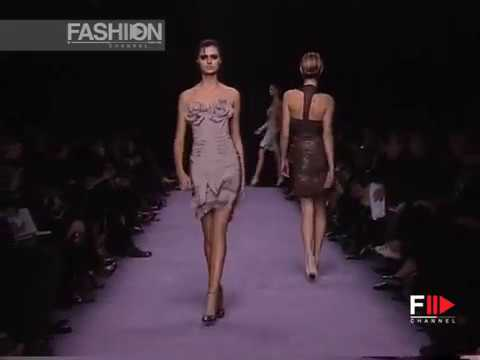 YVES SAINT LAURENT Full Show Spring Summer 2003 Paris by Fashion Channel