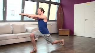24STUNDENDIÄT Wohnzimmer Workout